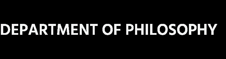 Department of Philosophy - UC Santa Barbara